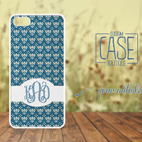 Personalized case for iPhone 5 and iPhone 4 / 4s - Plastic iPhone case - Rubber iPhone case - Monogram iPhone case - CB008