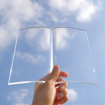 Paperweight Clear Acrylic Page Book Holder (out of stock)