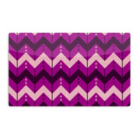 "Nick Atkinson ""Chevron Dance Purple"" Aluminum Magnet"