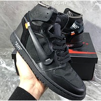 NIKE AIR JORDAN 1 RETRO High-top basketball shoes