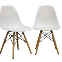 Eiffel Chair | Wood Base Eiffle Side Chair | Dining Chair