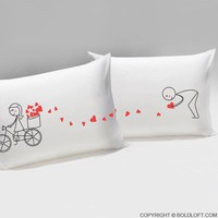 All My Love For You™ Couple Pillowcase Set