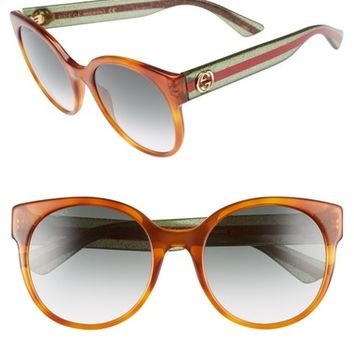 Gucci 54mm Retro Sunglasses | Nordstrom