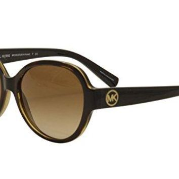 Michael Kors Montrose Two Tone Plastic Frame Ladies Sunglasses MK6022