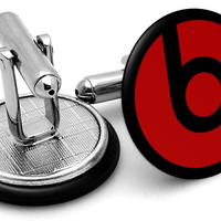 Beats by Dre Logo Cufflinks