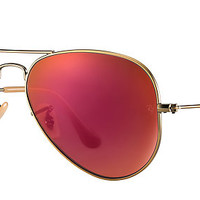 Ray-Ban RB3025 167/2K 58-14 AVIATOR FLASH LENSES Bronze-Copper sunglasses | Official Online Store US