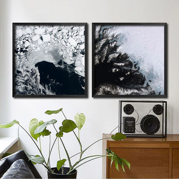Posters And Prints Wall Art Canvas Painting The Color Of Sea Wall Pictures For Living Room Nordic Decoration No Poster Frame