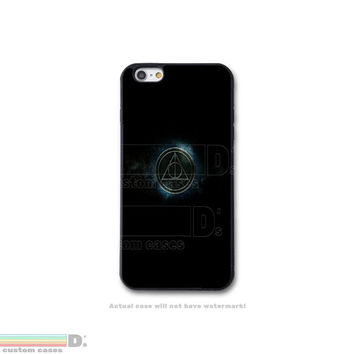 Harry Potter Inspired Deathly Hallows Symbol, Custom Phone Case for iPhone 4/4s, 5/5s, 6/6s, 6/6s+, and iPod Touch 5