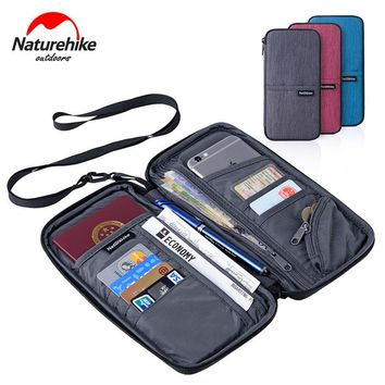 Naturehike Outdoor Multi Function Bags Document Passport Holder Credit Card Package Hiking Camping Travel Organizer Wallet VK059