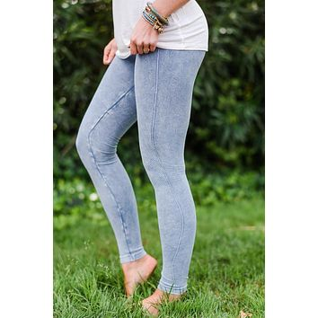 Vintage Moto Denim Jeggings