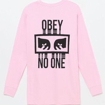 DCCKYB5 OBEY No One Long Sleeve T-Shirt