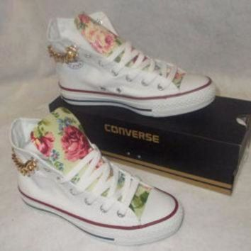 ICIKGQ8 sale floral chain converse shoes