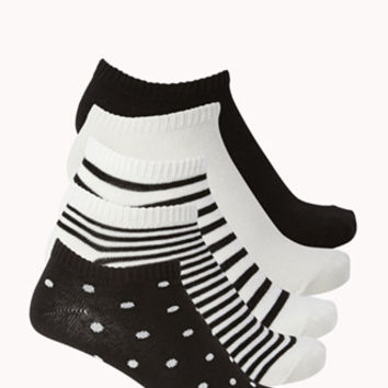 FOREVER 21 Classic Ankle Sock Set