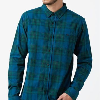 Ezekiel Swamper Plaid Flannel Long Sleeve Button Up Shirt at PacSun.com