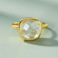 Encircled Gemstone Ring
