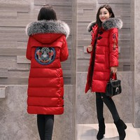 Ladies Winter Embroidery Jacket [288440582185]