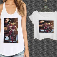 Harley Quinn love joker For Woman Tank Top , Man Tank Top / Crop Shirt, Sexy Shirt,Cropped Shirt,Crop Tshirt Women,Crop Shirt Women S, M, L, XL, 2XL**
