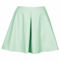 **PU SKATER SKIRT BY OH MY LOVE