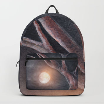 The Moon Backpacks by Marco Gonzalez