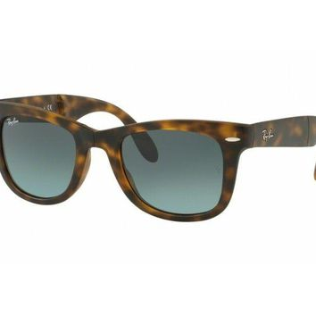 sunglasses Ray Ban RB4105 folding havana blue gradient 894/3M