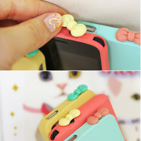 Nintendo DS Game IPhone HTC Droid Cell Phone Unique Earphone Plug Dust Cap Charm Cover Case