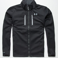 Under Armour Coldgear Infrared Softershell Mens Jacket Black  In Sizes