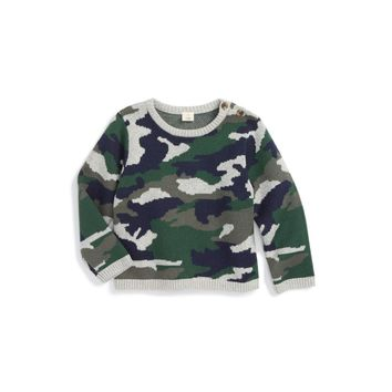 Tucker + Tate Camo Sweater (Baby Boys)