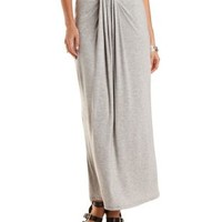 Tucked & Draped Maxi Skirt by Charlotte Russe