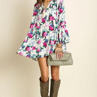 Rose Garden Tunic Dress