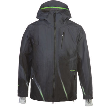 Volcom 3.5 TDS Gore-Tex Jacket - Men's Tinted Black,