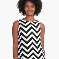 'Wave' Contrast Tank by KandM