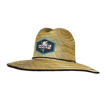 Tuna Lifeguard Fishing Stretch Fit Straw Hat