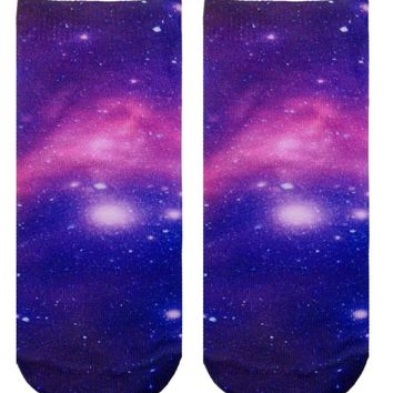 Galaxy Ankle Socks