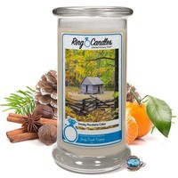 Smoky Mountains Cabin | Ring Candle®