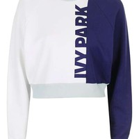 Colour Block Detailed Sweatshirt by Ivy Park - New In This Week - New In