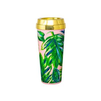 Ashley Brooke Design Travel Mug - Palm Leaf
