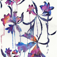 Drench // ORIGINAL Painting by hollysharpe on Etsy