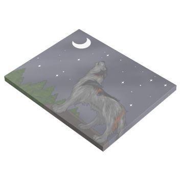 Howling Wolf (Gray) Gallery Wrap