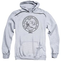 Parks And Rec - Pawnee Seal Adult Pull Over Hoodie Officially Licensed Apparel