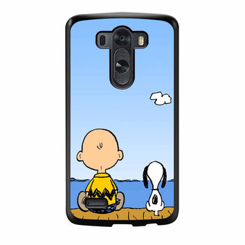 Snoopy And Charlie Brown LG G3 Case