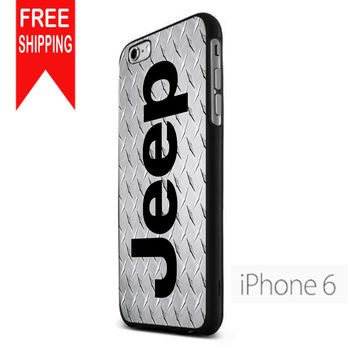 Jeep Metal Pattern iPhone 6 Case