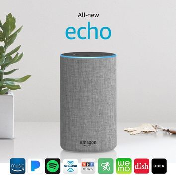 All-new Echo (2nd Generation) with improved sound, powered by Dolby, and a new design