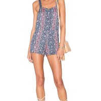 Michael Lauren Ridley Shorts Overalls in Boho South