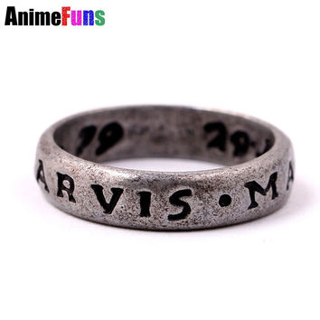 New Hot Game Uncharted 4 Ring : A Thief's End Drake Alloy ring Cosplay Accessories Collector's Edition Fashion Man's Jewelry
