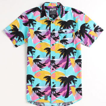Neff Mr. Palms Short Sleeve Woven Shirt Mens