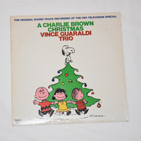 A Charlie Brown Christmas Vince Guaraldi Trio Fantasy 8431 Schultz Original Sound Track Recording Vintage Vinyl Record Album LP