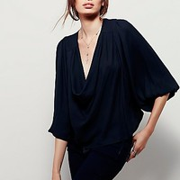 Free People Womens Cowling Around Top