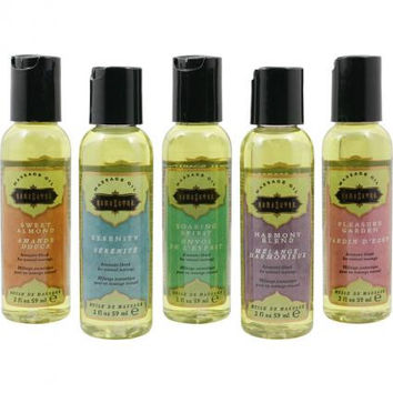 Kama Sutra Massage Tranquility Kit Assortment Of 5 Soothing Oils