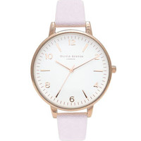 **OLIVIA BURTON TOPSHOP EXCLUSIVE LARGE WHITE WATCH