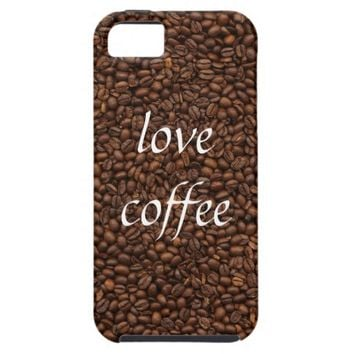 Love Coffee - Pile of Beans iPhone 5/5S Case Cover